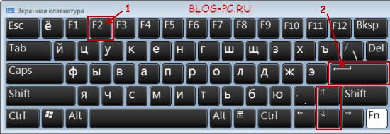 Что делает клавиша f2 на клавиатуре