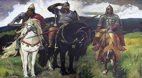 Богатыри картина васнецова википедия