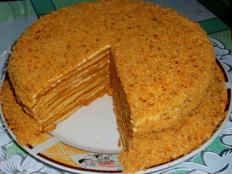 Домашний торт медовик рецепты