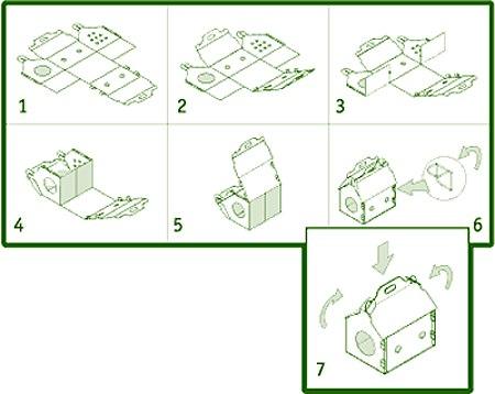 Как сделать домик хомяку своими руками из картона