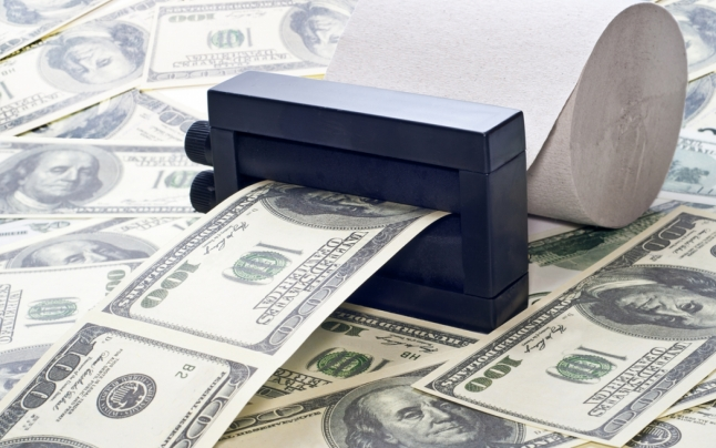 Как сделать машину которая печатает деньги