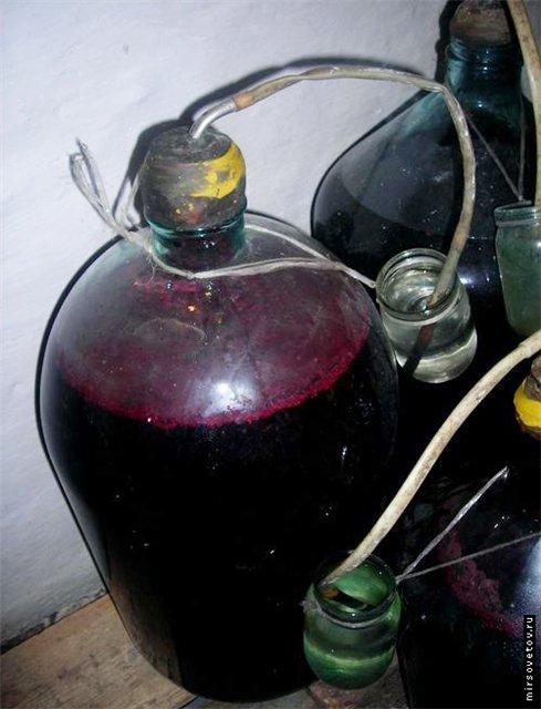 Как из винограда делать вино в домашних условиях