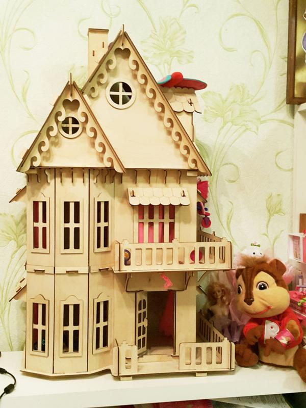 Кукольный домик из фанеры отзывы
