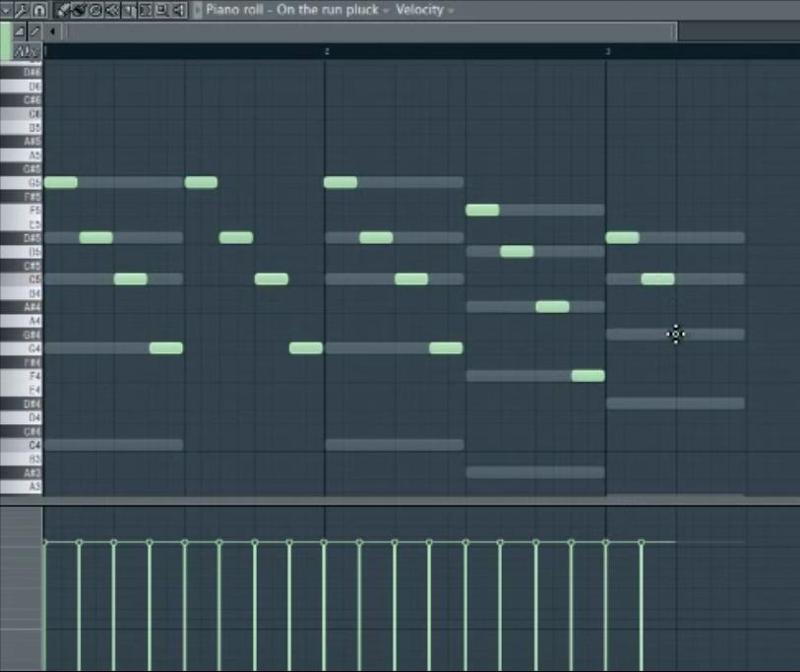 Как в fl studio сделать ноты призраки