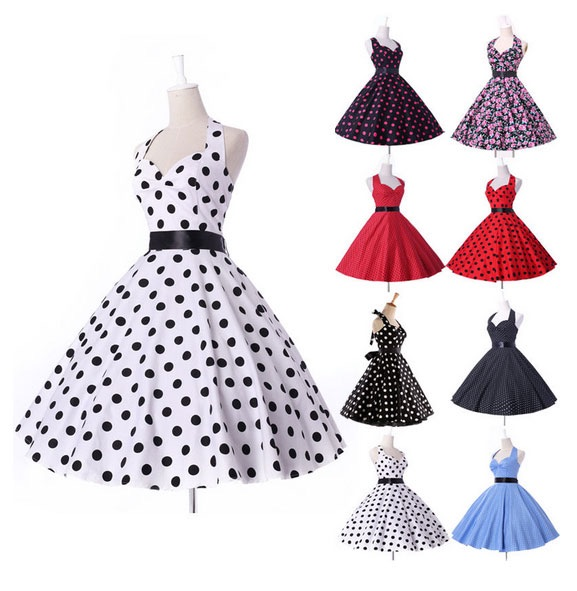 Платье для девочки в стиле ретро