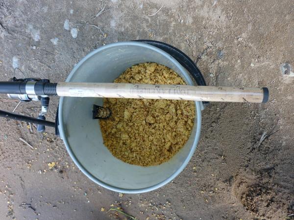 Как приготовить кашу для кормушки на леща