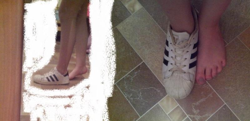 Как уменьшить кроссовки на размер в домашних условиях