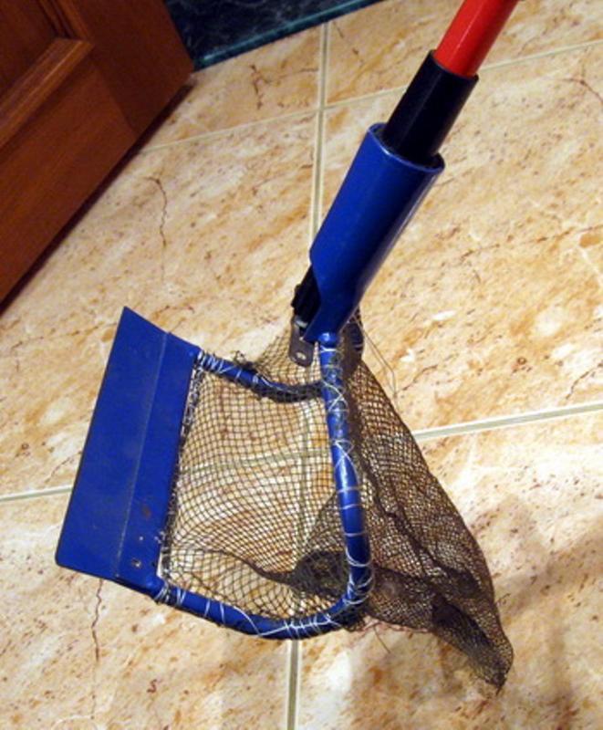Скуб для пляжного поиска из лопаты
