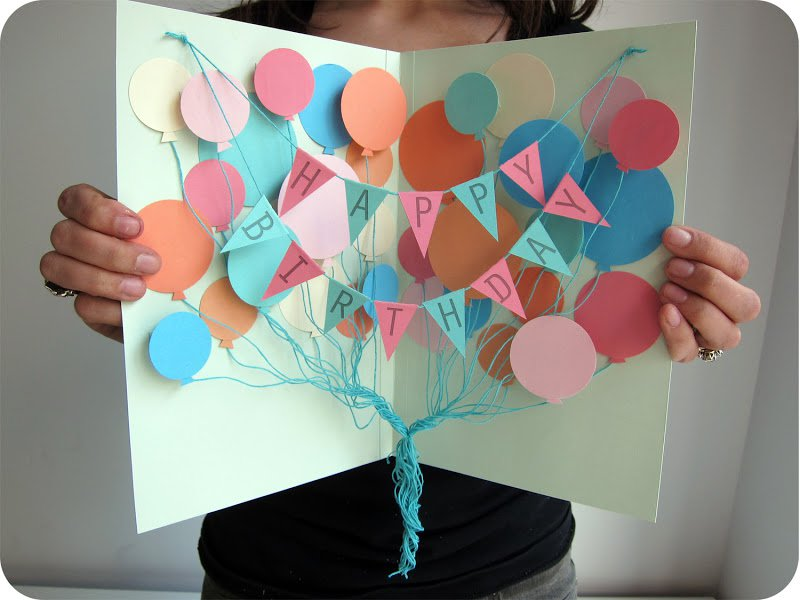 Подарок своими руками на день рождения картинки