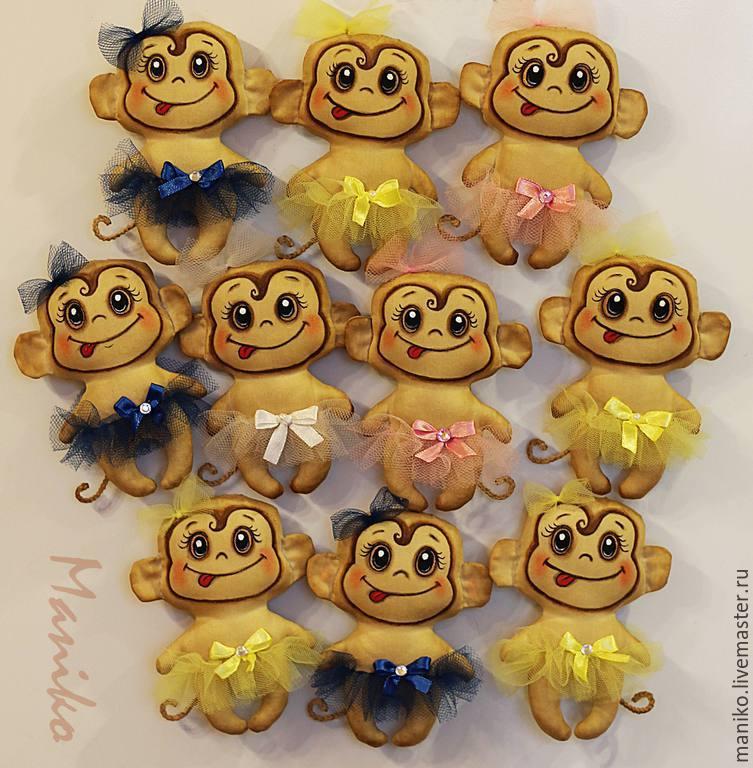 Сувениры своими руками к году обезьяны