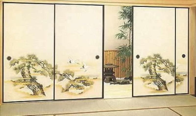 Японские двери сёдзи своими руками
