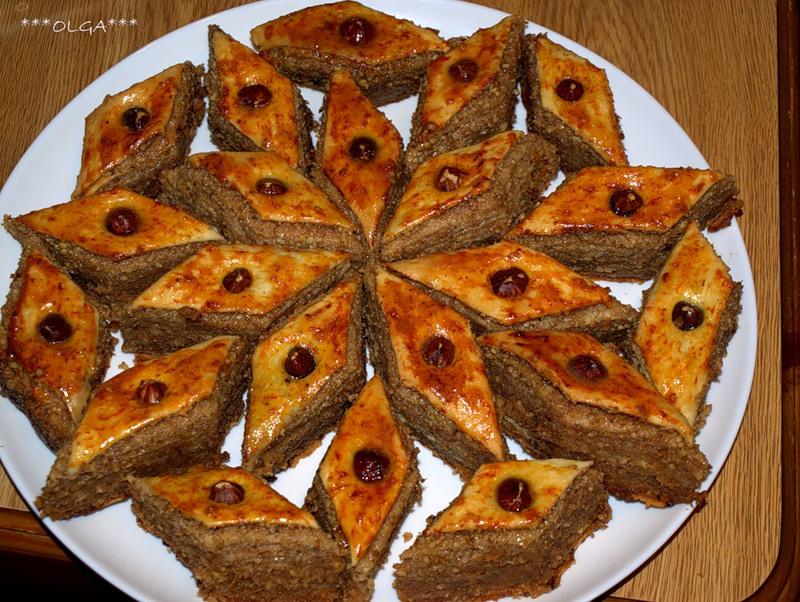 Бакинская пахлава в домашних условиях рецепт пошагово