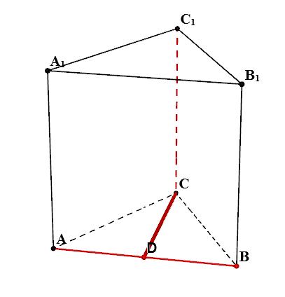 Треугольная призма abca1b1c1 рисунок