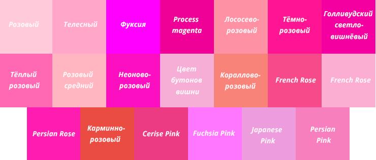 Как сделать зеленый цвет из розового