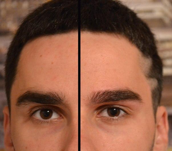 Как сделать брови густыми у мужчин