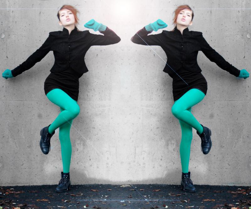 Как сделать зеркальной картинку в фотошопе