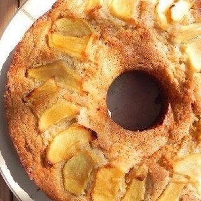 Как приготовить пирог с яблоками и бананами