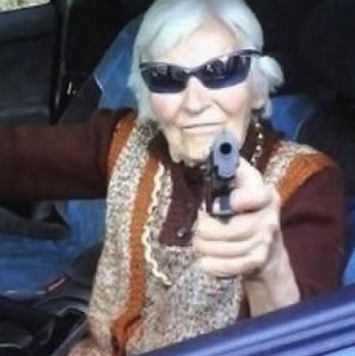 лохматая бабушка фото