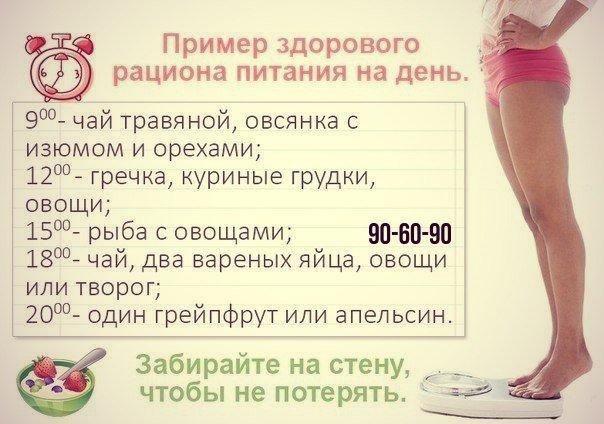 Диета очень быстро терять вес