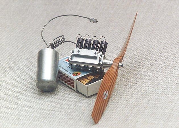 Радиоуправляемая модель своими руками двс