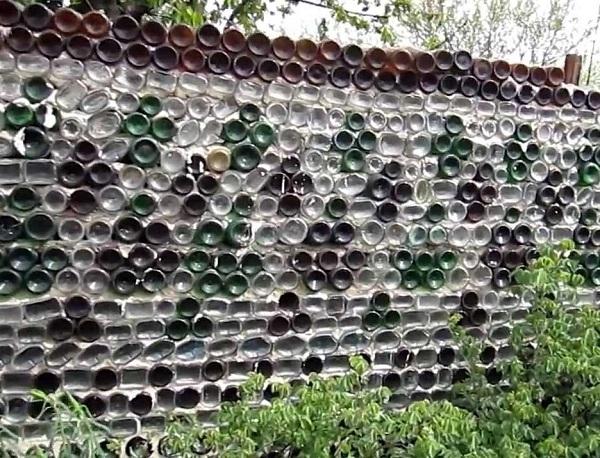 Стеклянный забор своими руками 799