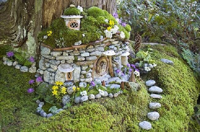 Замок в сад своими руками 11