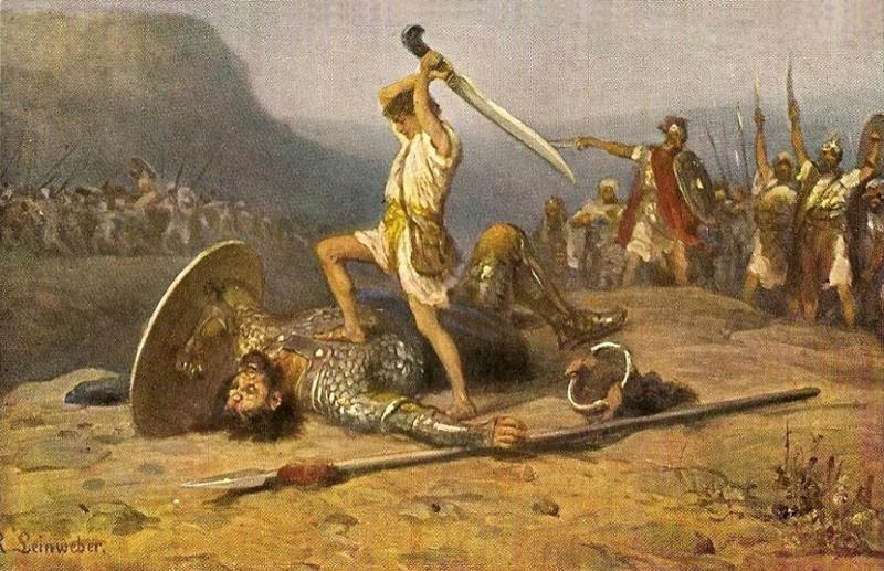 King david goliath