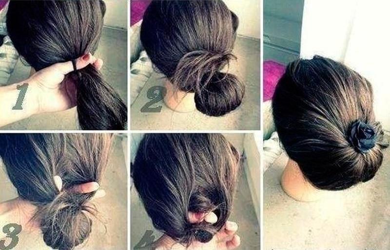 Красивые и простые прически для длинных волос на каждый день