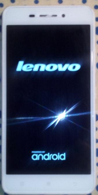 на телефоне леново заставка и не включается № 16830 загрузить