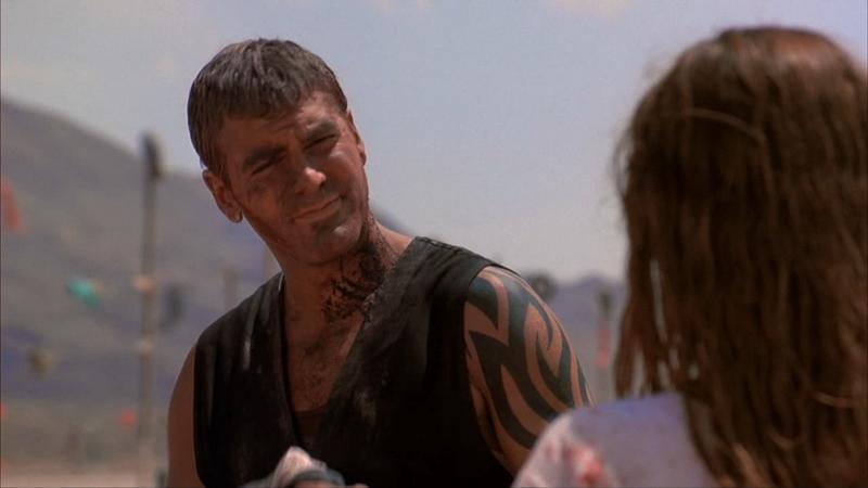 Тату Джорджа Клуни В Фильме От Заката До Рассвета