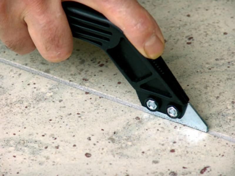 Чистка и удаление старой затирки ручные инструменты professional затирка пила плитка зазор ,48 руб.