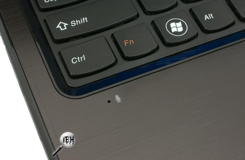 Где находиться встроенный микрофон на ноутбуке