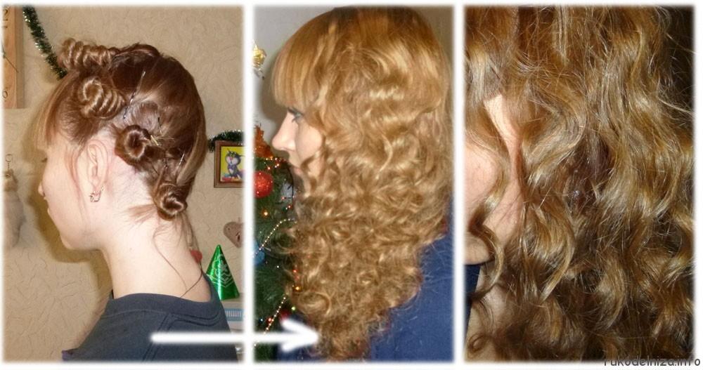 Как сделать чтобы волосы не было кучери