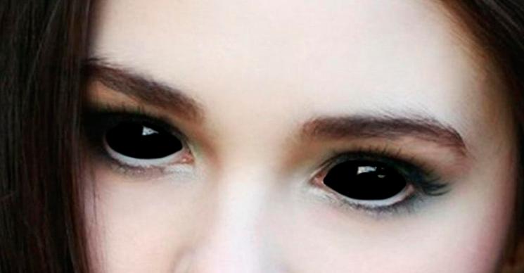 Глаза как у мураний сделать