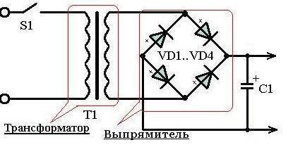 Диодный мост на 24 вольта