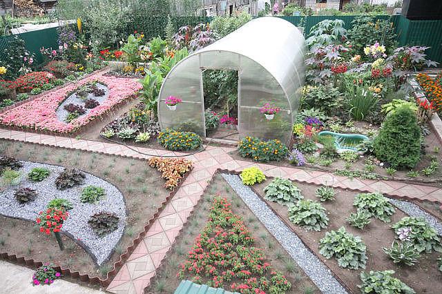 Огород сад огород дизайн  фото интересные идеи фото