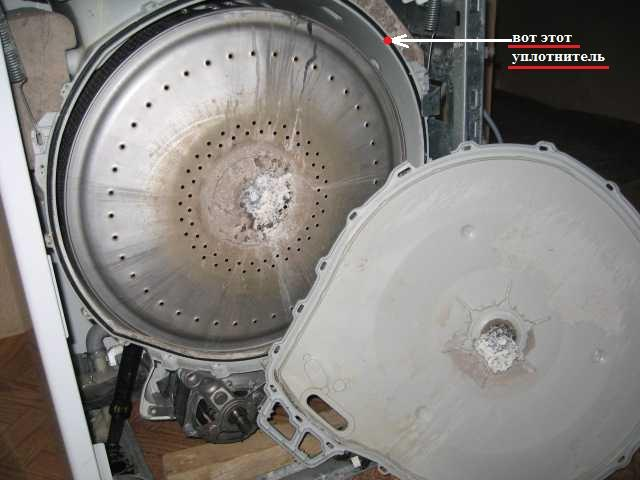 Балансировка барабана стиральной машины своими руками