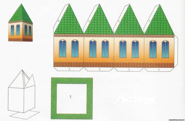 Бумажная ферма своими руками