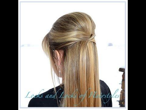 прическа на длинные волосы прямые с начесом