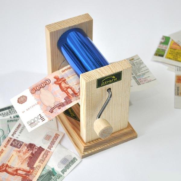 Изготовить деньги домашних условиях