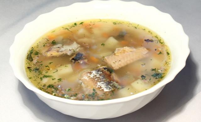 Суп из рыбных консервов рецепт с фото в мультиварке