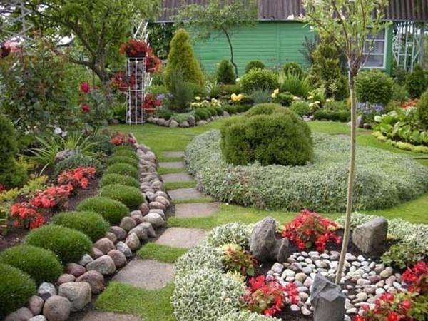 Дизайн саду фото