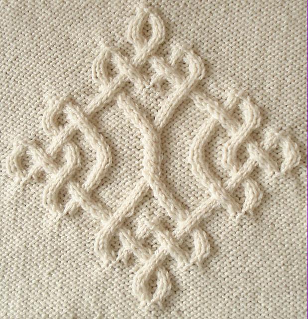 Вязание кельтского орнамента