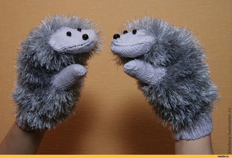 Ежовые рукавицы сделать своими руками