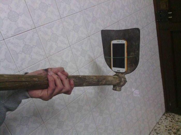 Палка для селфи своими руками фото