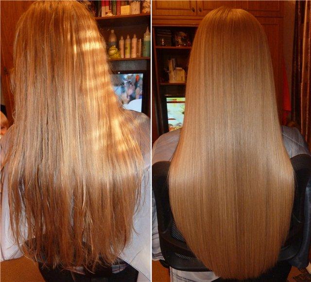 Выпрямление волос в домашних условиях желатином