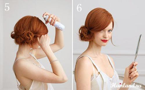 Плетение для девочки на длинные волосы своими руками 6
