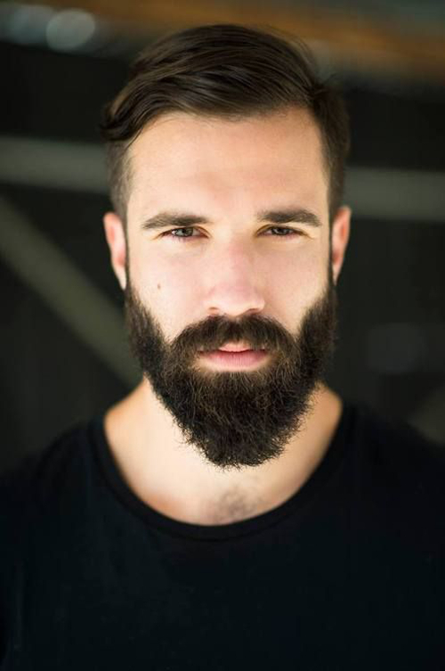 Модное мужское лицо