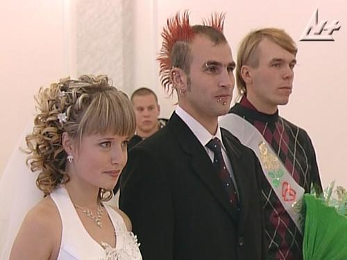 Прически мужчин на свадьбу