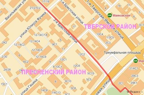 Карта советского района города липецка ул 8 марта